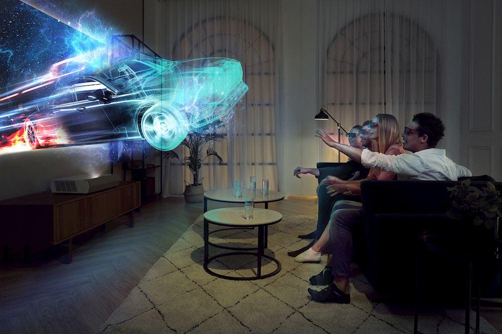 Optoma CinemaX P2 4K 3D lézer projektor