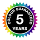 5 Year Colour Guarantee